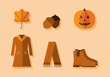 Vector Fall Season - vector gratuit #372687