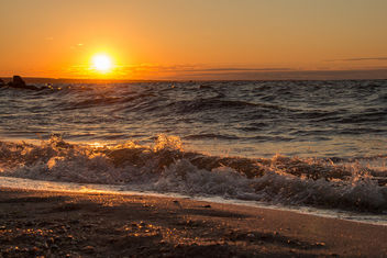 Sunrise on Asov sea near Sedovo - Free image #372827