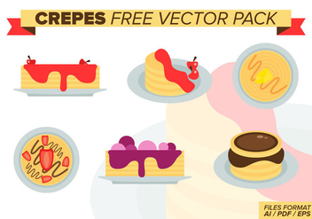 Crepes Free Vector Pack - Free vector #372937
