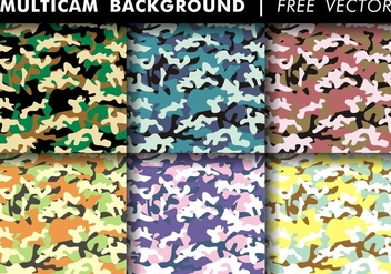 Multicam Background Free Vector - vector gratuit #373017
