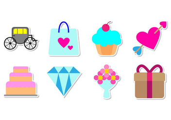 Free Wedding Icon Vector - vector #373267 gratis