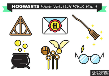 Hogwarts Free Vector Pack Vol. 4 - Kostenloses vector #373277
