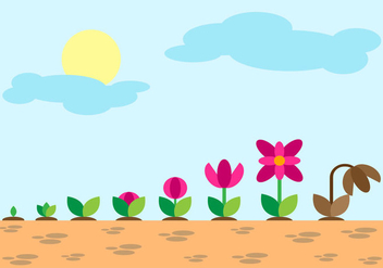 Free Grow Up Evolution Vector - vector #373297 gratis