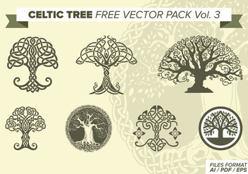 Celtic Tree Free Vector Pack Vol. 3 - Free vector #373487