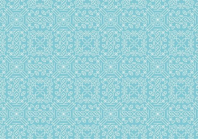 Decorative Motif Pattern - Free vector #374077