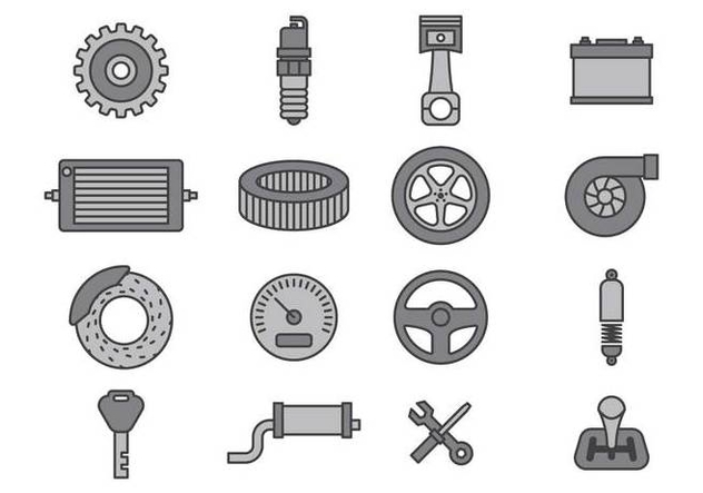 Car Mechanic Icon Sets - бесплатный vector #374167