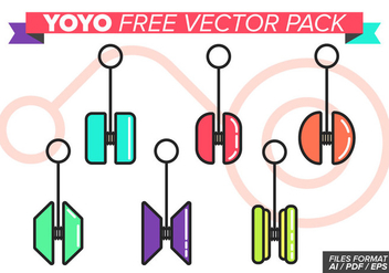 Yoyo Free Vector Pack - бесплатный vector #374447