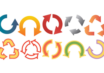 Free Roundabout Icons Vector - Free vector #374647
