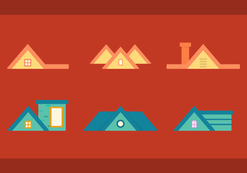 Free Rooftops Vector 2 - Free vector #375057
