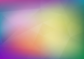 Free Vector Soft Polygon Degraded Background - vector gratuit #375137