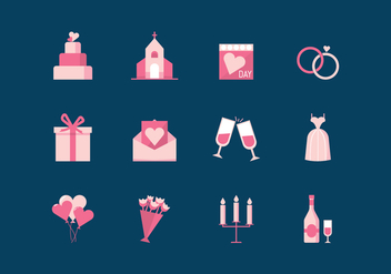 Free Wedding Vector - vector gratuit #375557