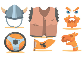 Viking Vector Set - vector #375567 gratis