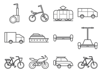 Free Transportation Icon Vector - Kostenloses vector #375757