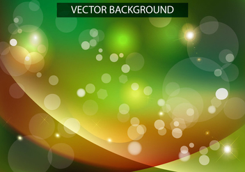 Shiny Wave Green Background Vector - Free vector #376157
