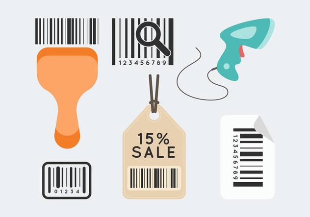 Free Barcode Scanner Vector 1 - Free vector #376317