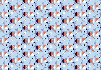 Square Geometric Pattern - vector gratuit #377227