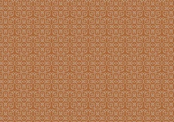Yellow Mosaic Pattern - vector gratuit #377267