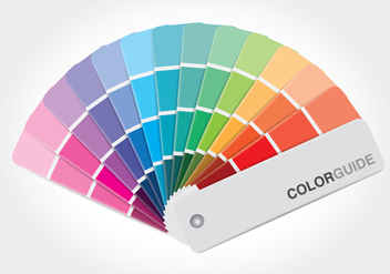 Free Color Guide Book Vector - бесплатный vector #377507