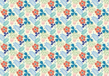 Flowers Vector Pattern - Free vector #377757