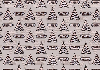 Free Vector Tipi Pattern - Free vector #377857