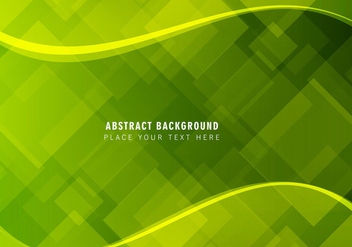 Free Vector Abstract Green Background - vector #377907 gratis