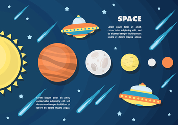 Free Space Vector Illustration - vector gratuit #377977