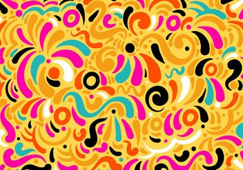 Modern Swirl Vector Background - Free vector #378057