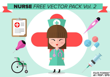 Nurse Free Vector Pack Vol. 2 - Free vector #378087