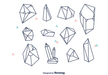 Geometric Crystals Vector - бесплатный vector #378107