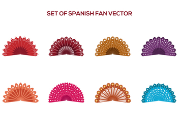 Free Spanish Fan Vectors - vector gratuit #378247