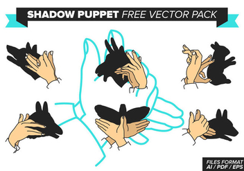Shadow Puppet Free Vector Pack - Kostenloses vector #378257