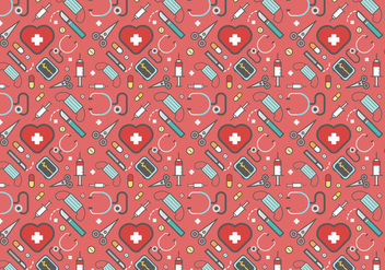 Free Plastic Surgery Vector Pattern - бесплатный vector #378417