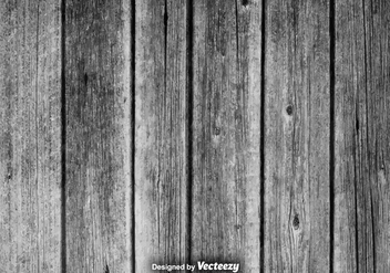 Realistic Vector Gray Hardwood Planks Background - Free vector #378837