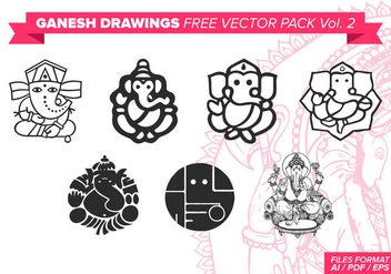 Ganesh Free Vector Pack Vol. 2 - бесплатный vector #378887
