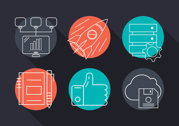 Free Vector Business Icons - vector gratuit #379317