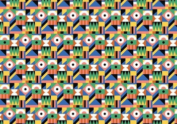 Colorful Abstract Pattern - vector #379537 gratis