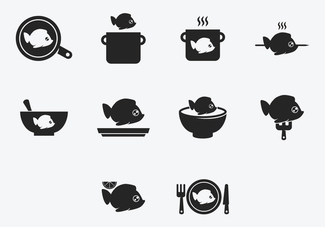 Cooking Fish Clipart