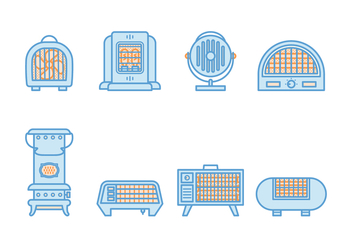 Free Vintage Heater Vector - Free vector #379567