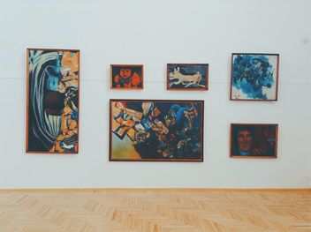 Pictures, Museum in maykop, summer, 2014 year. - бесплатный image #379977