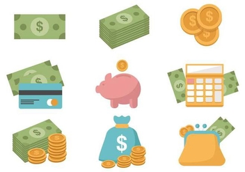 Free Finance Icons Vector - vector gratuit #380517