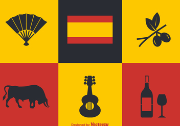 Free Spanish Vector Icons - бесплатный vector #380677