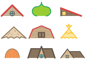 Free Rooftop Vector - Free vector #380697