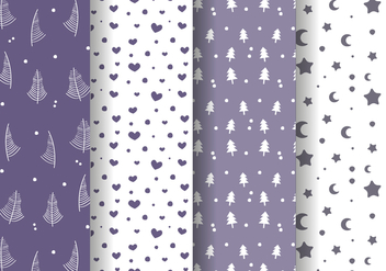 Free Winter Pattern Vector - Kostenloses vector #380737