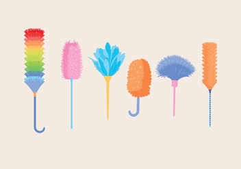 Feather Duster Vector - Free vector #380757
