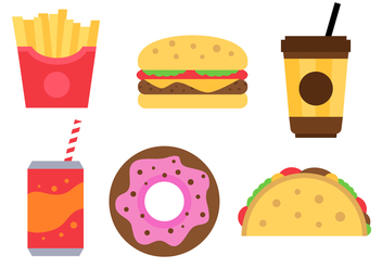 Free Fast Food Vector - Free vector #380767