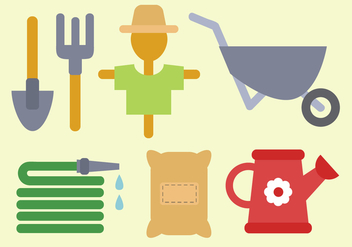 Free Farm Elements Vector - бесплатный vector #380807