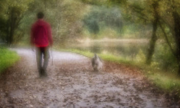 Walking the Dog/Man - take your pick - Free image #381007