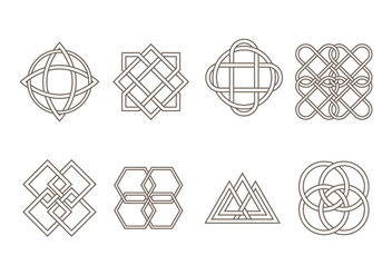 Free Celtic Ornament Vector - vector #381207 gratis