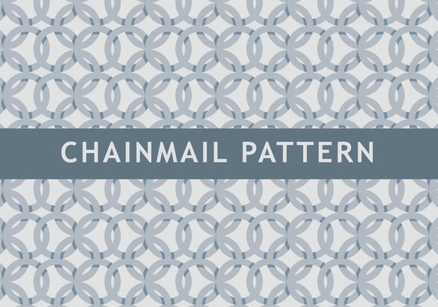Chainmail Pattern - Free vector #381417