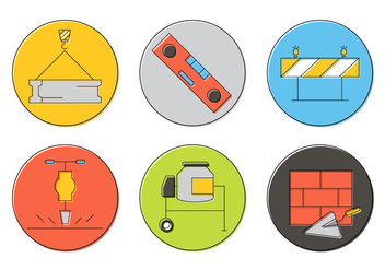 Free Construction Icons - vector #382017 gratis